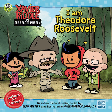 I Am Theodore Roosevelt by Brooke Vitale