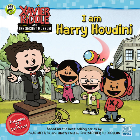 I Am Harry Houdini by Brooke Vitale