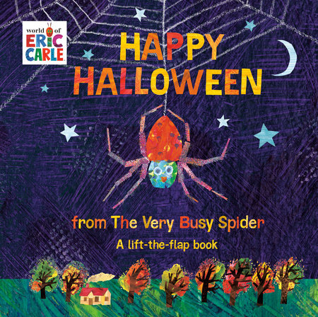 Happy Halloween from The Very Busy Spider by Eric Carle