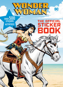 Wonder Woman: The Official Sticker Book (DC Wonder Woman)