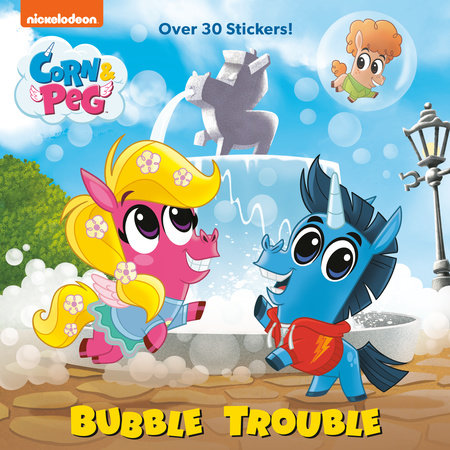 Bubble Trouble (Corn & Peg) by Brooke Vitale