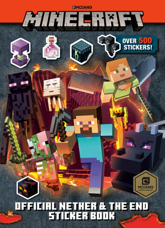 Minecraft Official the Nether and the End Sticker Book (Minecraft)