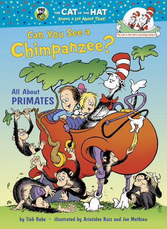 Can You See a Chimpanzee? Cover