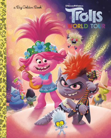 Trolls World Tour Big Golden Book (DreamWorks Trolls World Tour) by David Lewman; illustrated by Alan Batson and Fabio Laguna