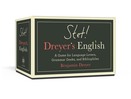 STET! Dreyer's English by Benjamin Dreyer