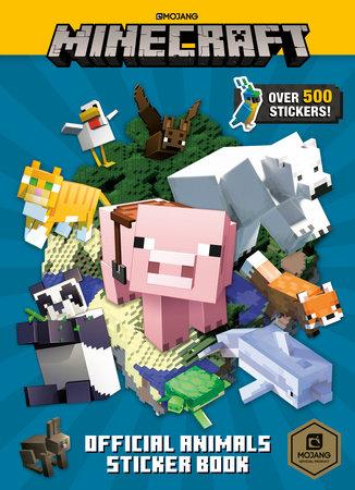 Minecraft Official Animals Sticker Book (Minecraft) by Random House