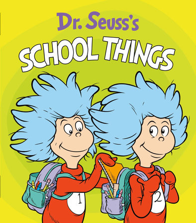 Dr. Seuss's School Things Cover