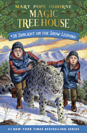 Sunlight on the Snow Leopard by Mary Pope Osborne