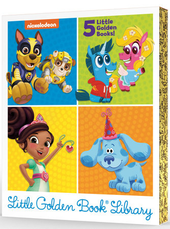 Nickelodeon Little Golden Book Library (Nickelodeon) by Various