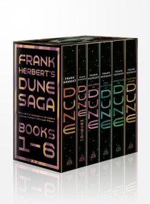 Frank Herbert's Dune Saga 6-Book Boxed Set