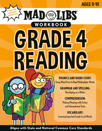 Mad Libs Workbook: Grade 4 Reading by Mad Libs