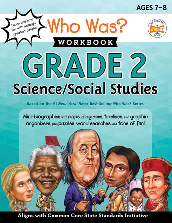 Who Was? Workbook: Grade 2 Science/Social Studies by Kathryn Lewis and Who HQ