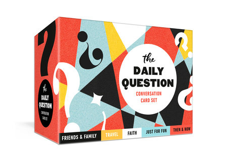 The Daily Question Conversation Card Set by Ink & Willow