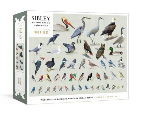 Sibley Backyard Birding Puzzle by David Allen Sibley