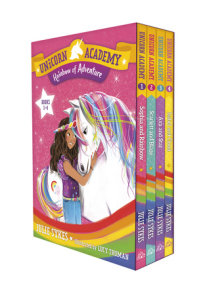 Unicorn Academy: Rainbow of Adventure Boxed Set (Books 1-4)