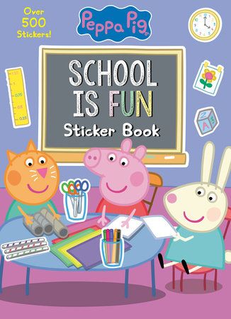School is Fun Sticker Book (Peppa Pig) by Golden Books