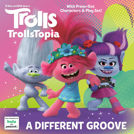 A Different Groove (DreamWorks Trolls) by Random House