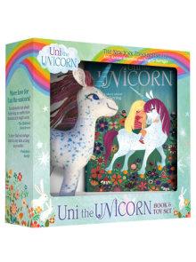 Uni the Unicorn Book and Toy Set