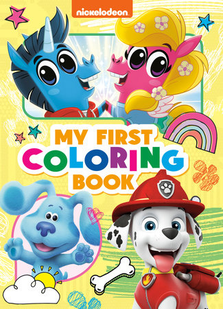 Nickelodeon: My First Coloring Book (Nickelodeon) by Golden Books