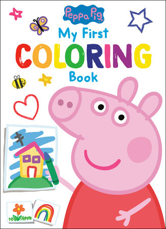 Peppa Pig: My First Coloring Book (Peppa Pig) by Golden Books
