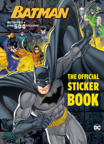 Batman: The Official Sticker Book (DC Batman)