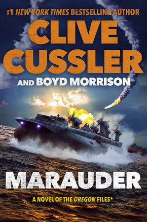 Marauder by Clive Cussler and Boyd Morrison
