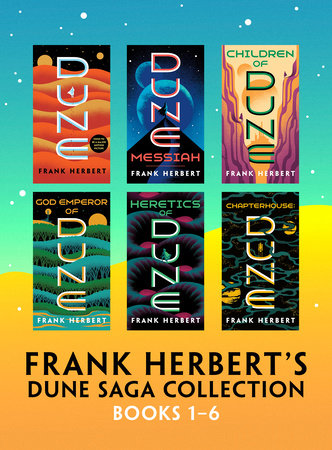 Frank Herbert's Dune Saga Collection: Books 1 - 6 by Frank Herbert