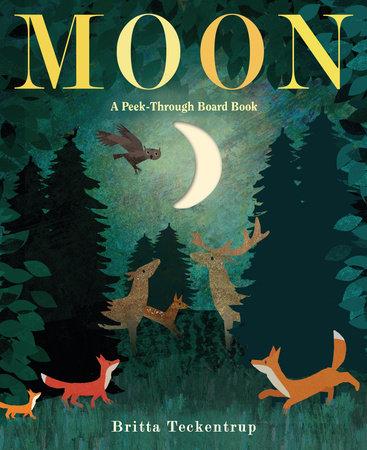 Moon: A Peek-Through Board Book by Britta Teckentrup