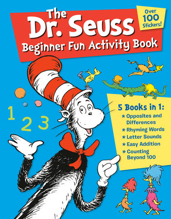 The Dr. Seuss Beginner Fun Activity Book Cover