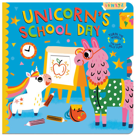 Unicorn's School Day by Lucy Golden