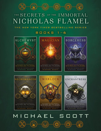 The Secrets of the Immortal Nicholas Flamel Complete Collection (Books 1-6) by Michael Scott