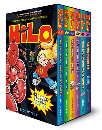 Hilo: The Great Big Box (Books 1-6)