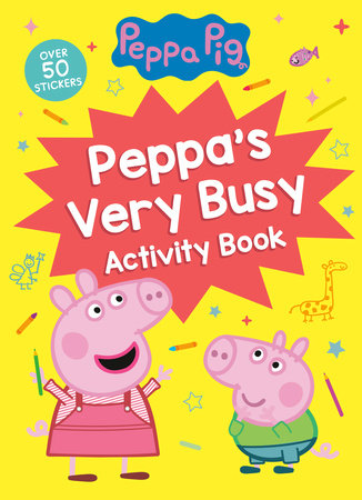 Peppa's Very Busy Activity Book (Peppa Pig) by Golden Books