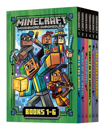 Minecraft Woodsword Chronicles: The Complete Series: Books 1-6 (Minecraft  Woosdword Chronicles) by Nick  Eliopulos