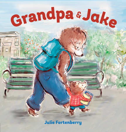 Grandpa and Jake by Julie Fortenberry