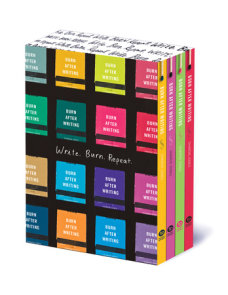 Burn After Writing Boxed Set