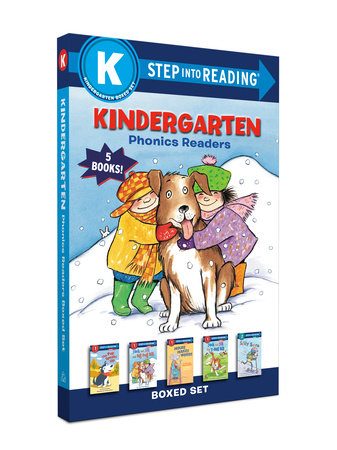 Kindergarten Phonics Readers Boxed Set by Martha Weston, Anna Jane Hays, Terry Pierce and Kathryn Heling