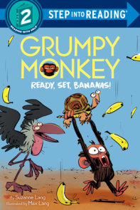 Grumpy Monkey Ready, Set, Bananas!
