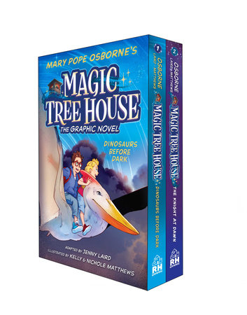 Magic Tree House Graphic Novels 1-2 Boxed Set by Mary Pope Osborne