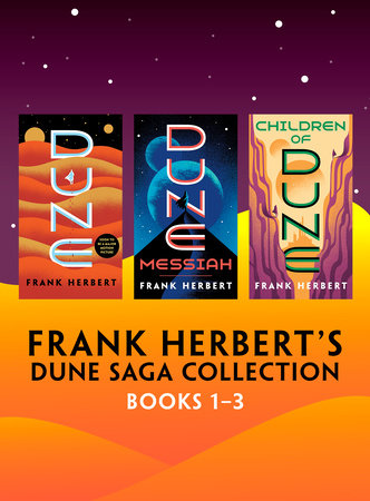 Frank Herbert's Dune Saga Collection: Books 1-3 by Frank Herbert