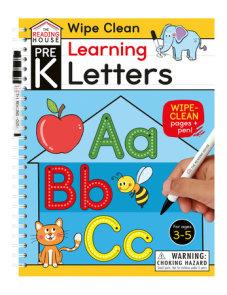 Learning Letters (Pre-K Wipe Clean Workbook)