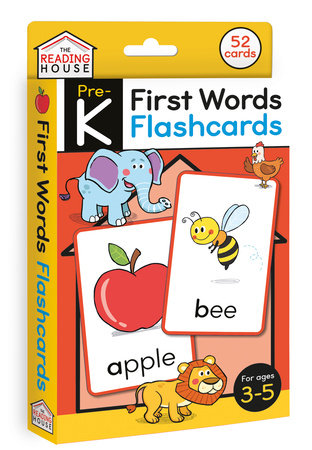 First Words Flashcards by Marla Conn and The Reading House