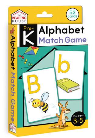 Alphabet Match Game (Flashcards) by Marla Conn and The Reading House