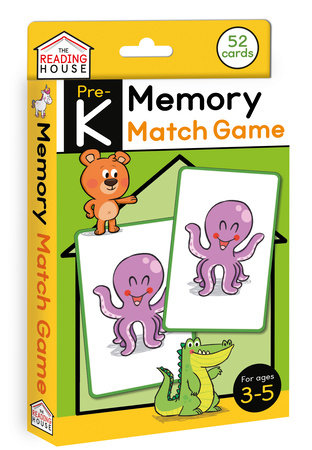 Memory Match Game (Flashcards) by Marla Conn and The Reading House