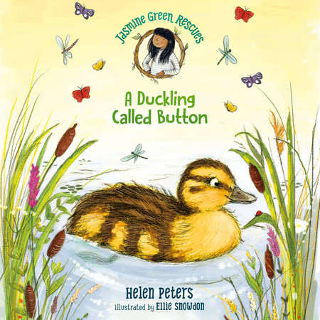 Jasmine Green Rescues: A Duckling Called Button by Helen Peters