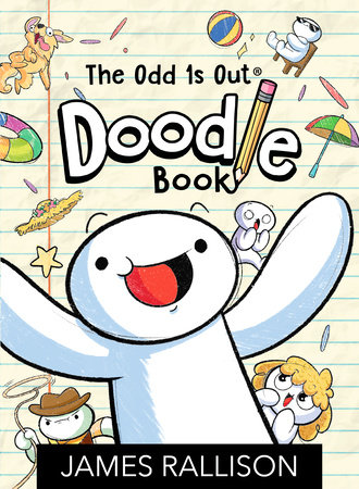 The Odd 1s Out Doodle Book by James Rallison
