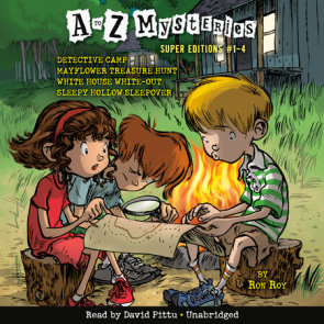 A to Z Mysteries Super Editions #1-4