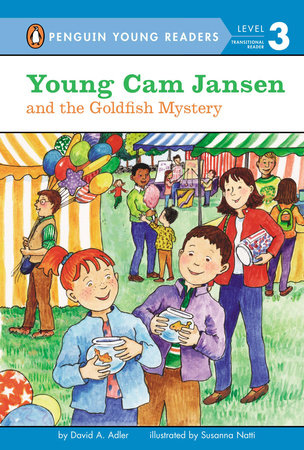 Young Cam Jansen and the Goldfish Mystery by David A. Adler