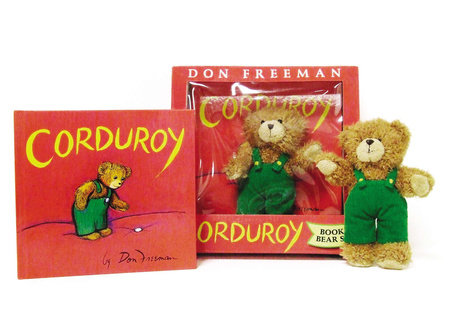 Corduroy Book and Bear