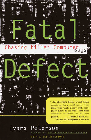 Fatal Defect by Ivars Peterson
